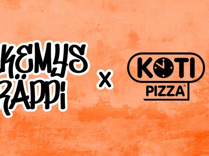 näkemysräppi x kotipizza